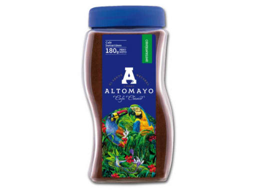 Café ALTOMAYO Clásico - Frasco 180 g