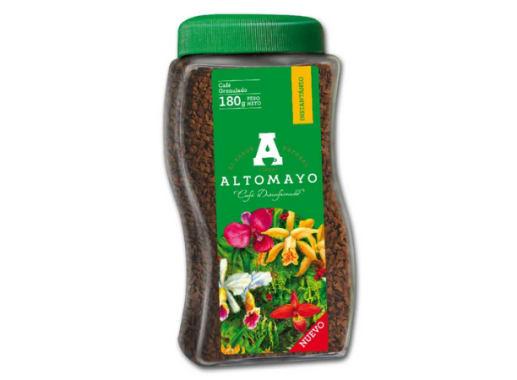 Café ALTOMAYO Descafeinado- Frasco 180 g