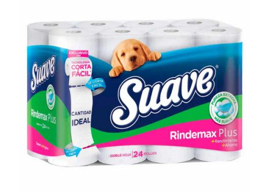 Papel higienico Suave - Cuidado completo 24 und