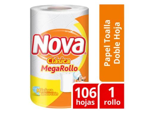 Papel toalla Nova Clásica MegaRollo  - 1 rollo