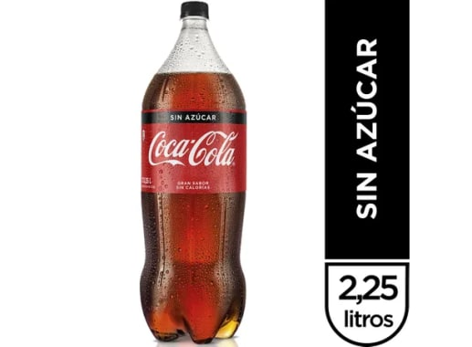 COCA COLA SIN AZÚCAR 2.25 LT