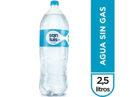 AGUA SAN LUIS SIN GAS -  2.5 LT