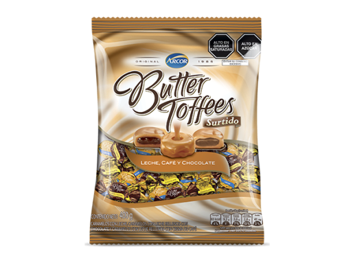 Butter Toffees Surtido 400g