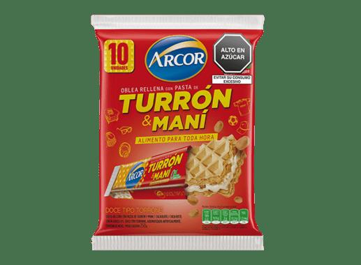 Turrón Wafer Pack x 10 Und