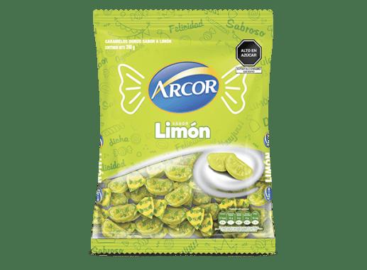 Caramelo Limón Arcor 390g