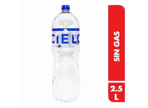 Agua Cielo Sin gas - Botella 2.5 L