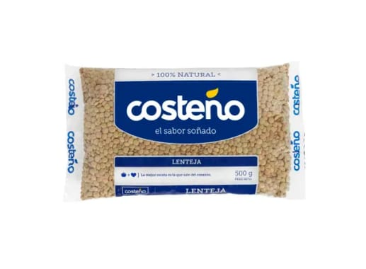 Lentejon Costeño - Bolsa 500 gr