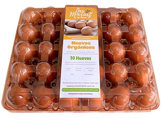 Huevos Organicos x 30 Unds