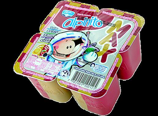 Alpinito Max Frutos Galleta 90gr X4 Unds