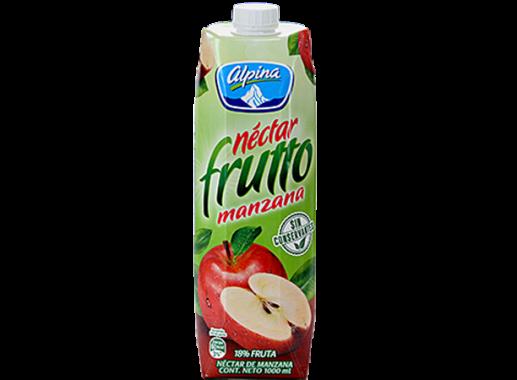 Nectar Frutto Manzana Caja Litro