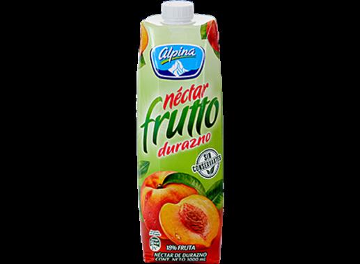 Nectar Frutto Durazno Caja Litro
