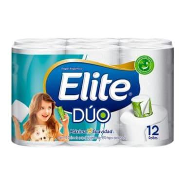 Elite Papel Higiénico Duo Doble Hoja