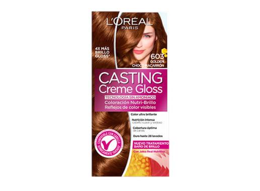 Tinte para Cabello sin amoníaco 603 Chocolate Marrón Casting Creme Gloss