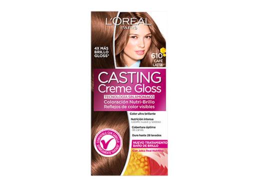 Tinte para Cabello sin amoníaco 610 Café Latte Casting Creme Gloss