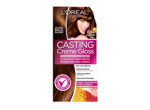 Tinte para Cabello sin amoníaco 634 Marrón Miel Casting Creme Gloss