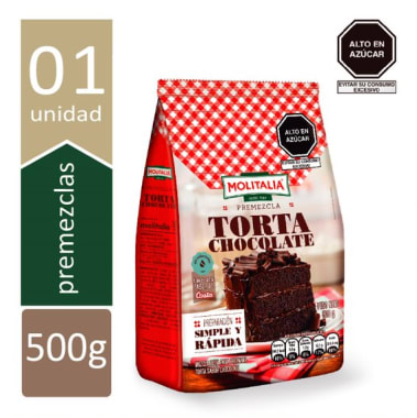 PREMEZCLA TORTA DE CHOCOLATE  470g