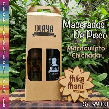 OLAYA PACK MACERADOS DE PISCO