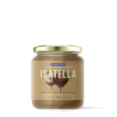 Crema de avellanas y cacao 100% Vegano- Isatella