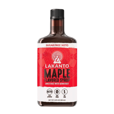 Maple Flavored Syrup Sugar Free/Keto - Lakanto