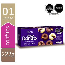 GALLETA CHOCODONUTS 222 GR