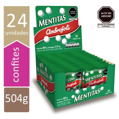 CARAMELO MENTITAS 24X21 GR.