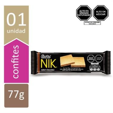 WAFER NIK CHOCOLATE 6X77 GR