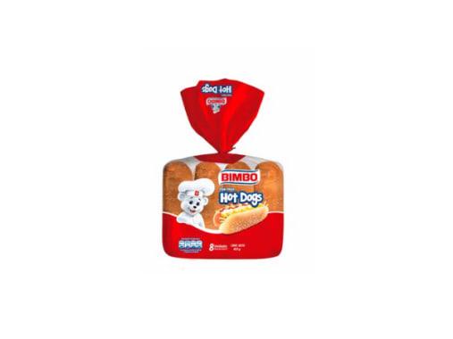 Bimbo Pan para Hot Dog - Bolsa 8 und