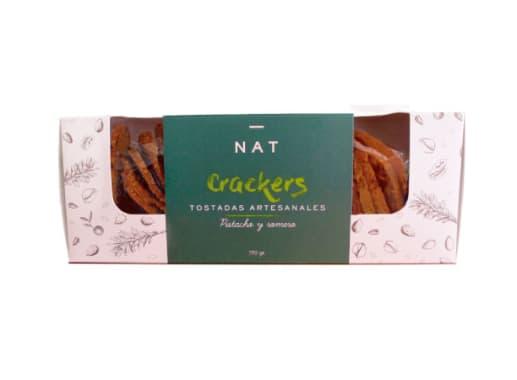NAT CRACKERS - PISTACHO & ROMERO