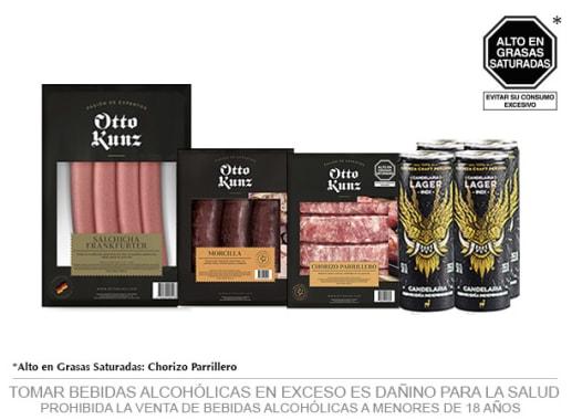 Pack Parrillero + Candelaria