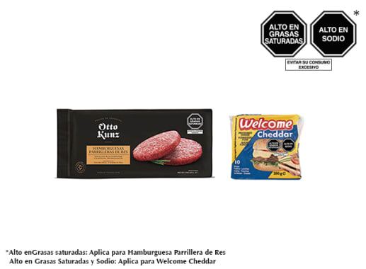 Pack Hamburguesa Parrillera