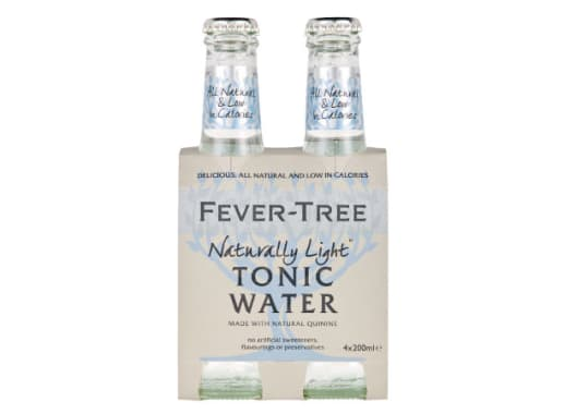 NATURALLY LIGHT INDIAN TONIC WATER (FOUR PACK) - FEVER TREE