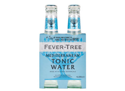 MEDITERRANEAN TONIC WATER (FOUR PACK) - FEVER TREE