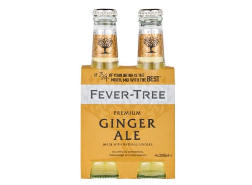 GINGER ALE (FOUR PACK) - FEVER TREE