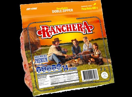 Salchicha Ranchera X 480gr