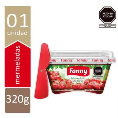 FANNY  MERMELADA POTE 320 GR