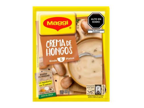 MAGGI CREMA DE HONGOS - 65G