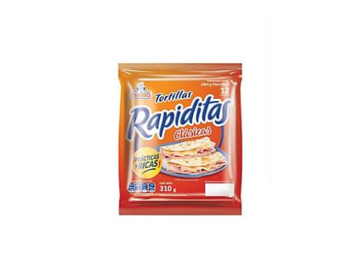 TORTILLAS RAPIDITAS CLASICAS - 12 UND