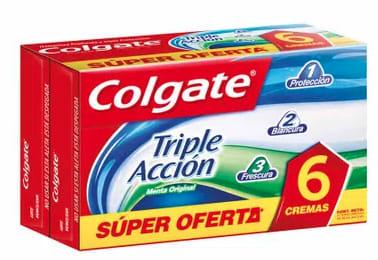 Pasta Dental Triple Acción Tubo Colgate