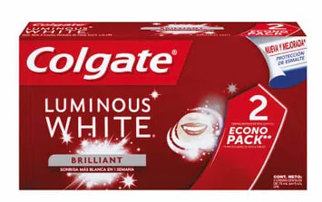 Pasta Dental Luminous White Colgate