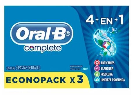 Pasta Dental Complete 4 Oral-B
