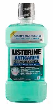 Enjuague Bucal Anticaries Zero Listerine