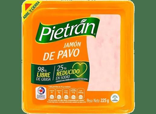 Jamon Pietran De Pavo X 225gr