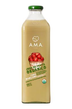 AMA Time Jugo Orgánico Manzana