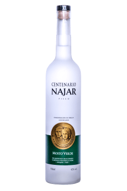 PISCO MOSTO VERDE - Quebranta x 750 ml.