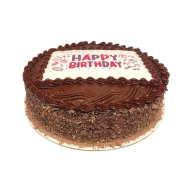 Torta Happy Birthday de Chocolate
