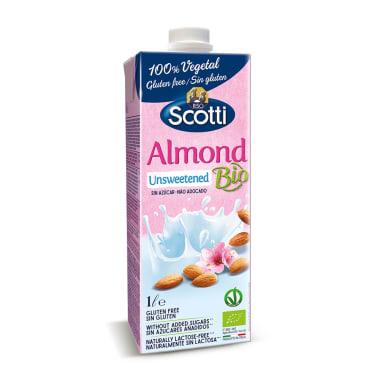 Leche de Almendras sin Azúcar - Scotti