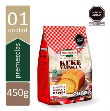 PREMEZCLA KEKE DE VAINILLA  450g