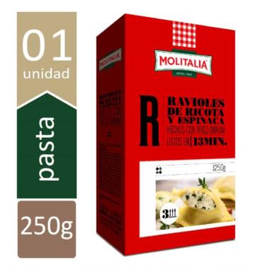 MOLITALIA RAVIOL RICOTA Y ESPINACA 250 GR