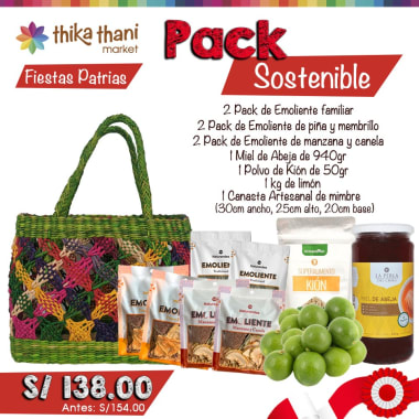 PACK SOSTENIBLE