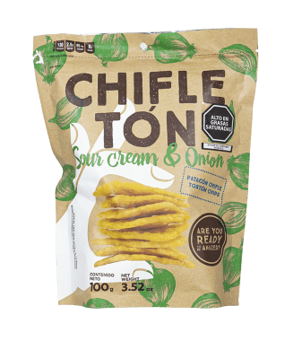 CHIFLETÓN SOUR CREAM & ONION - PATACÓN
